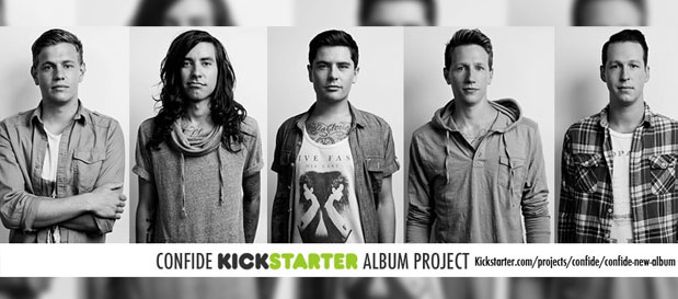 Confide Starts Kickstarter to Record New Album