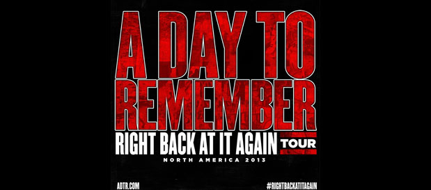 Punkvideosrock   A Day To Remember, Of Mice & Men, Chunk ... A Day To Remember Right Back At It Again
