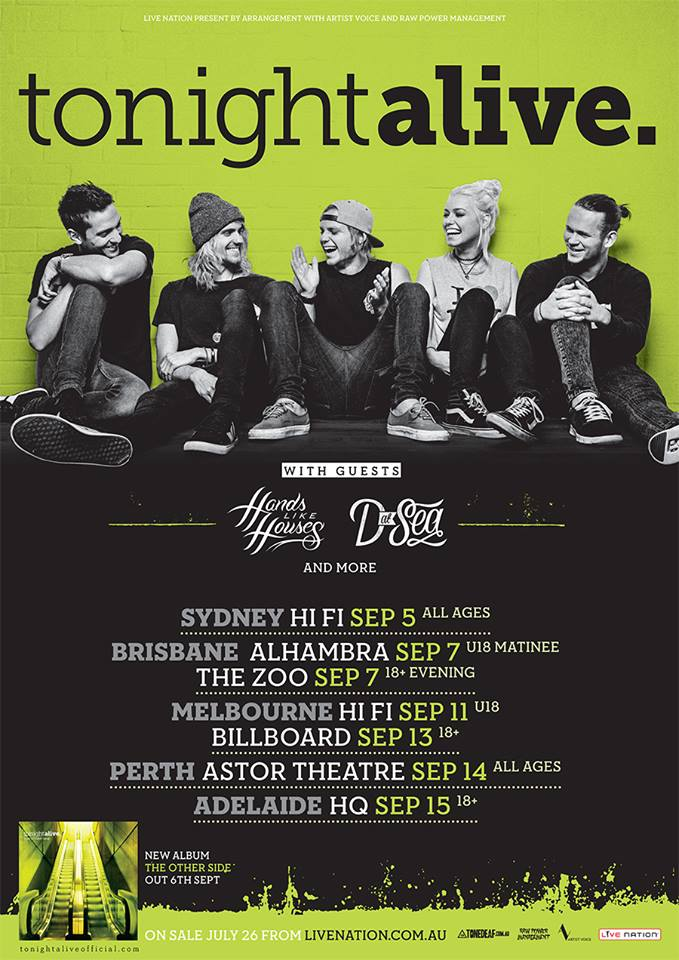 out our Tonight Alive promo featuring live footage from Warped Tour    Tonight Alive The Other Side Tour