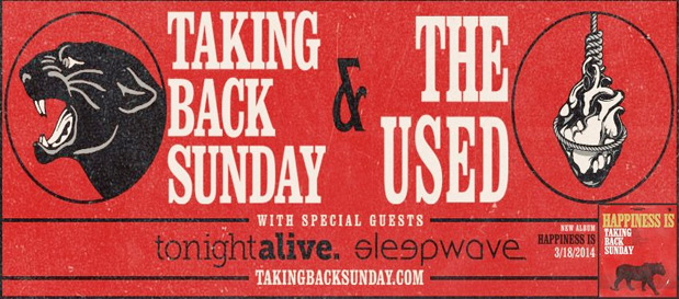 Taking Back Sunday & The Used announce additional dates with @RobertHerrera3