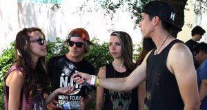 Courage My Love talk Warped Tour, Music, and Touring w/ @RobertHerrera3