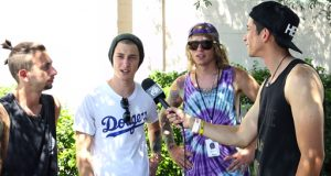 The Word Alive talk 'Real,' John Feldmann & tracking vocals with 5SOS w/ @RobertHerrera3