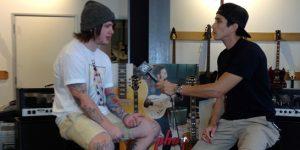Bring Me The Horizon's Lee Malia talks signature guitar, new music plans w/ @RobertHerrera3