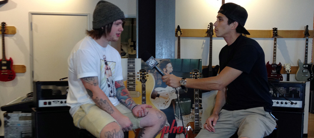 Bring Me The Horizon's Lee Malia talks signature guitar, new music plans w/ @RobertHerrera3