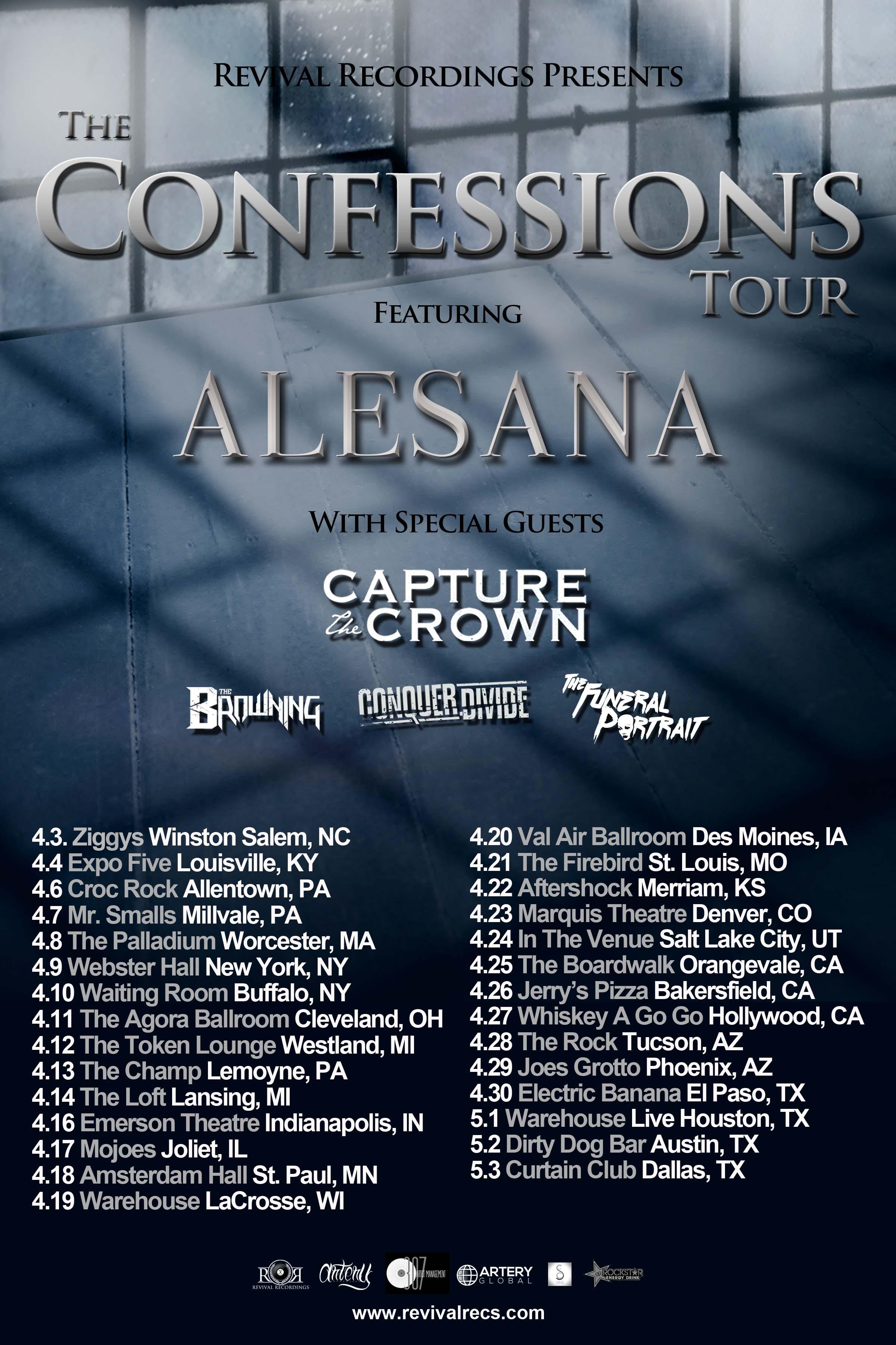 The Confessions Tour Alesana