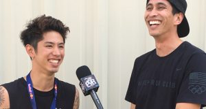 ONE OK ROCK Photo Gallery at Self Help Fest 2016, Taka Talks New Album & Good Charlotte Album w/ @RobertHerrera3