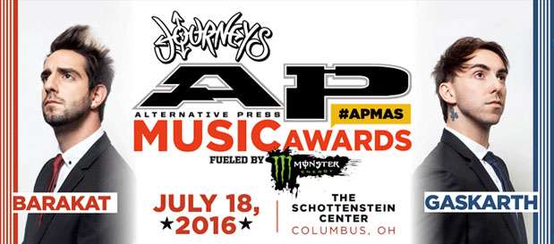 A Day To Remember To Headline 2016 AP Music Awards