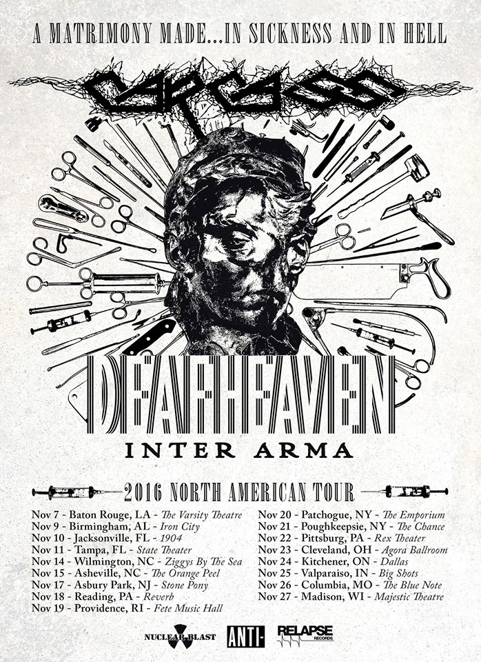 Slipknot Deafheaven Tour Tucson