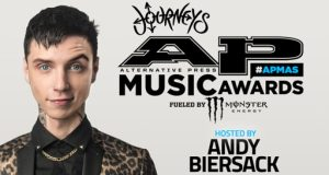 Andy Biersack (Black Veil Brides, Andy Black) To Host 4th Annual AP Music Awards