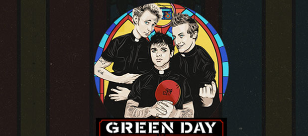 "Green Day To Release ""Greatest Hits: God's Favorite Band"" Compilation"