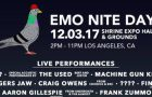 Emo Nite Day Announce Lineup: The Used, Machine Gun Kelly, Tigers Jaw, Craig Owens, more